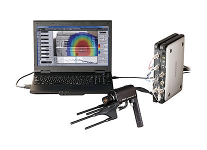 可以实现原来36通道传声器系统(本公司产品比较)相同的声源位置分辨能